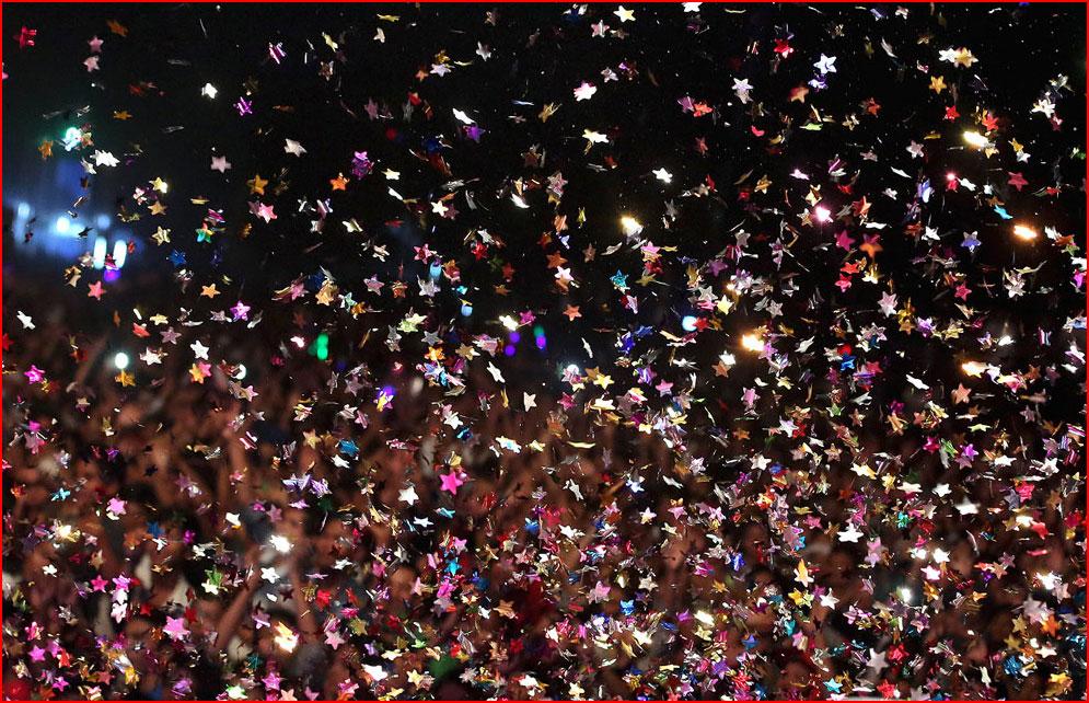 Салюты, пляжи и шампанское – как в мире встретили новый 2014-й год  (гей блюсик 10087)