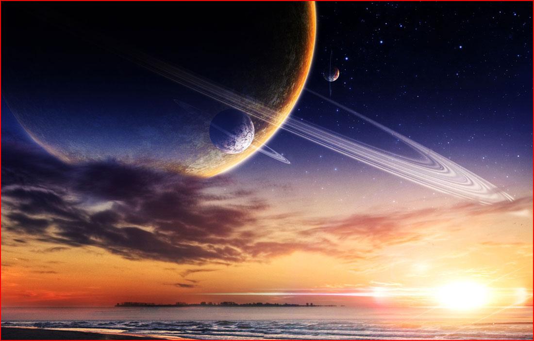 Космическая фантазия  (гей блюсик 10243)