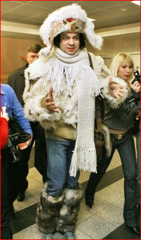 Эпатажный Филипп Киркоров  (гей блюсик 10360)