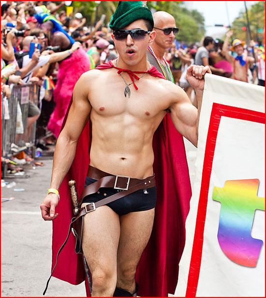 Гей-парад в  Майами-Бич 2014