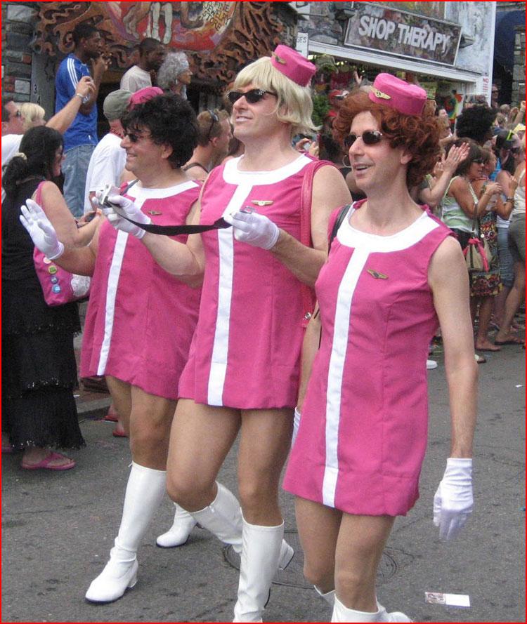 Стюардессы  (гей блюсик 10596)