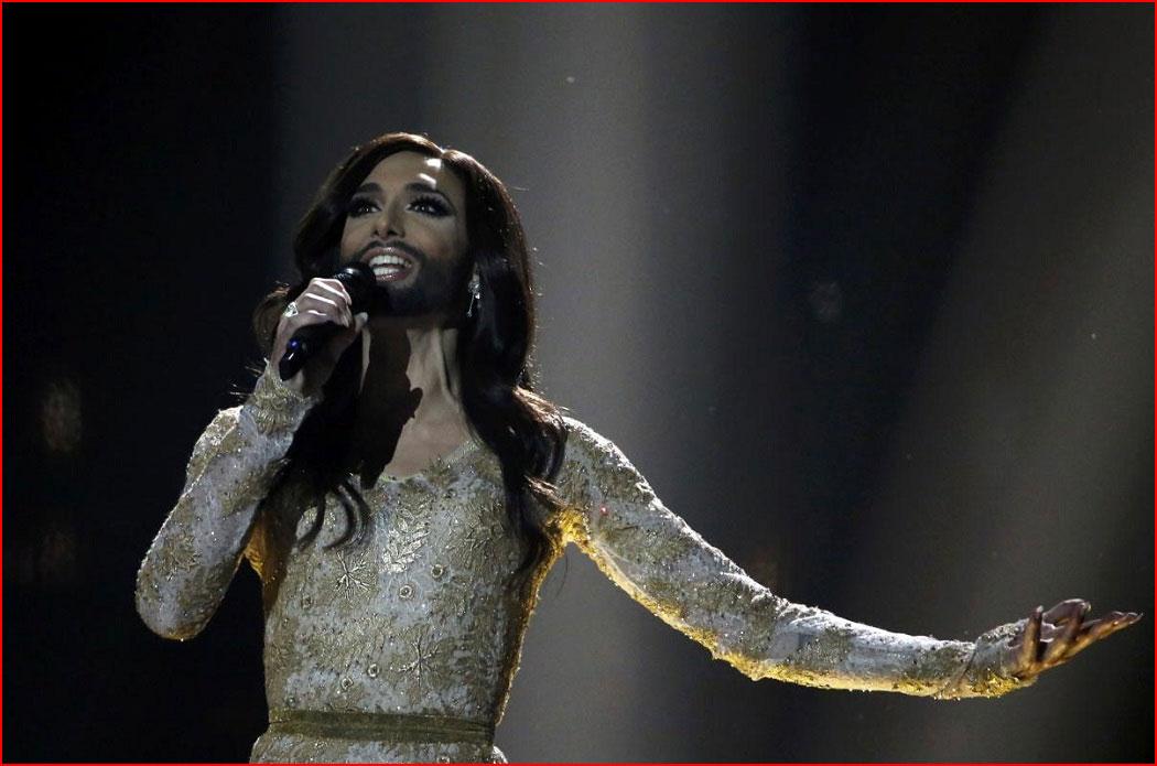На Евровидении-2014 победила Кончита  (гей блюсик 10603)