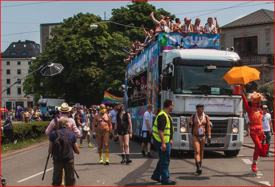 Гей-парад в Мюнхене