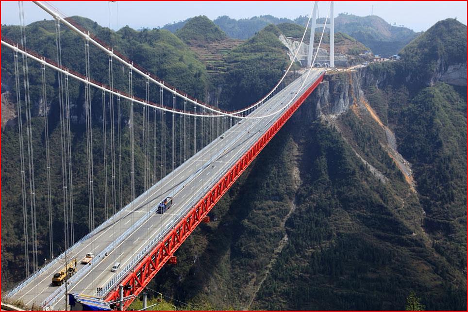 Самый длинный в мире мост через пропасть  (гей блюсик 11200)