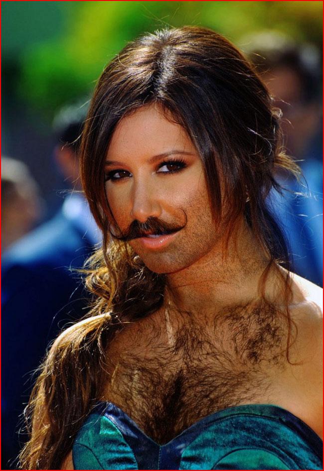 Женская борода