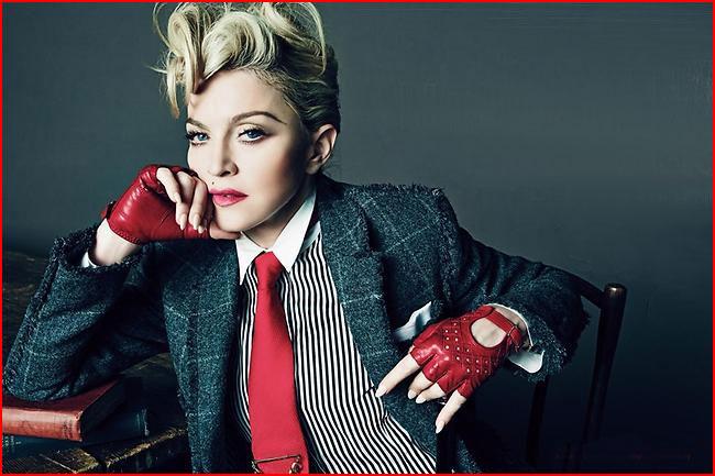 Без стеснения: Мадонна снялась топлес в возрасте 56 лет