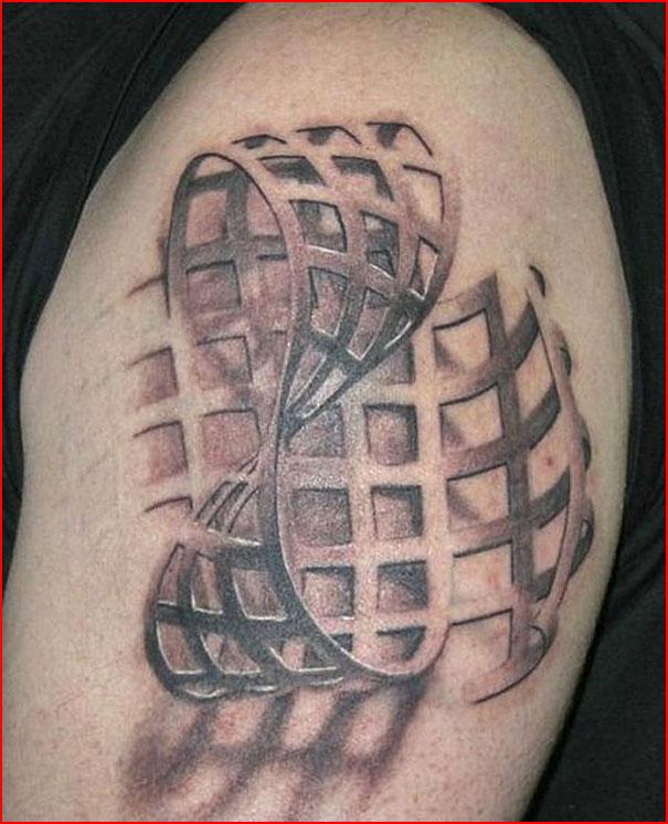 Объёмные татуировки  (гей блюсик 11387)