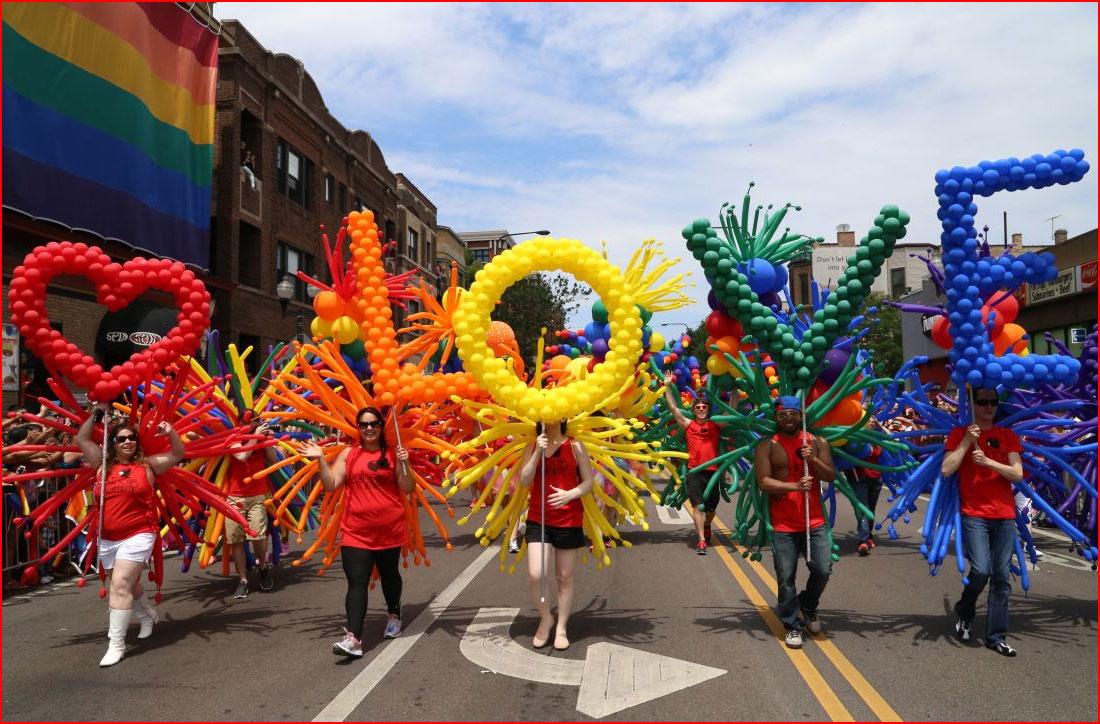 Гей парады по всему миру