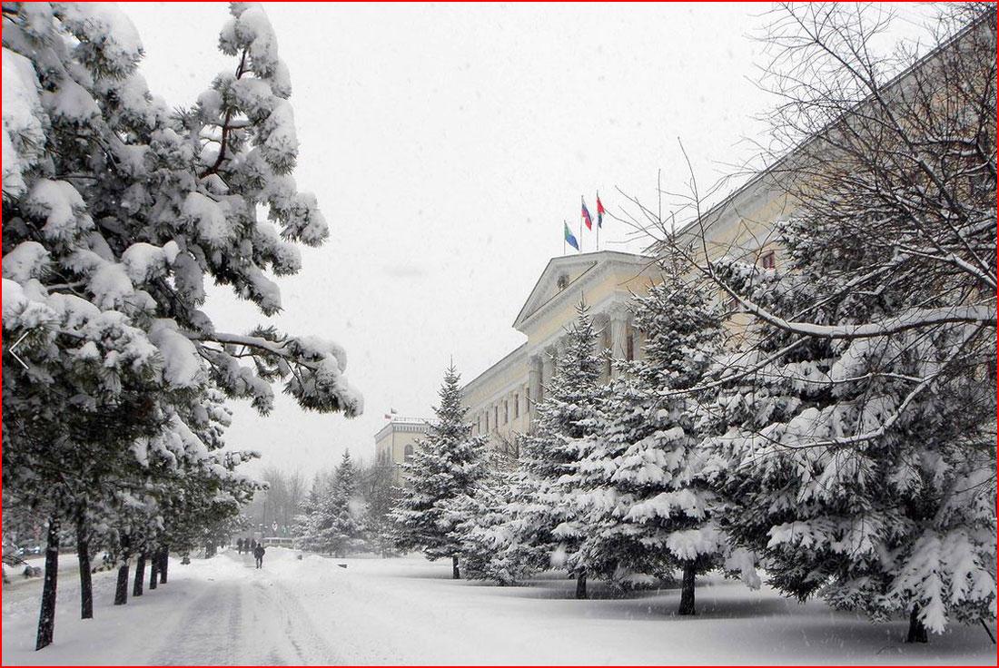 Предновогодний Хабаровск  (гей блюсик 11527)