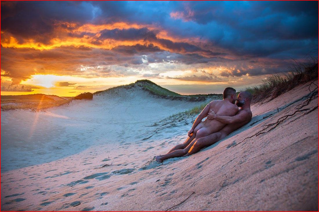 Любовь на песке  (гей блюсик 11606)