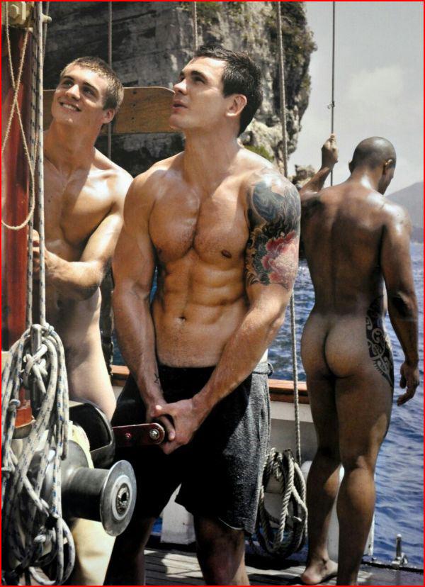 Яхтсмены  (гей блюсик 11656)