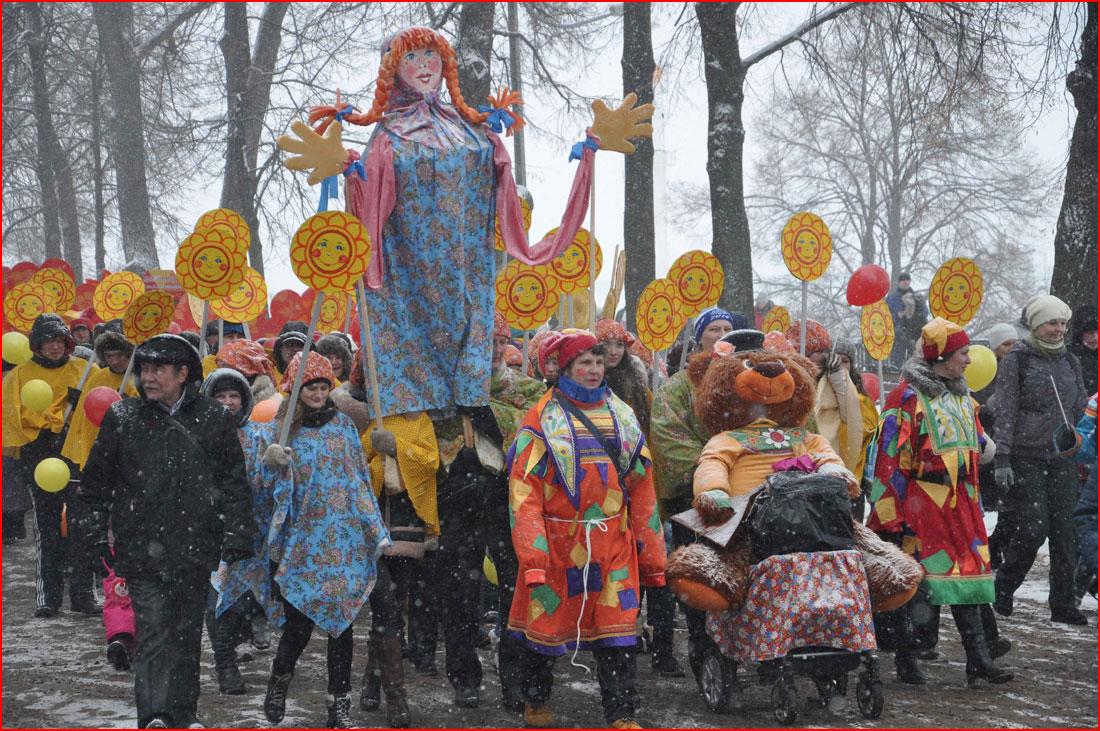 Масленичные гулянья в Ярославле  (гей блюсик 11743)