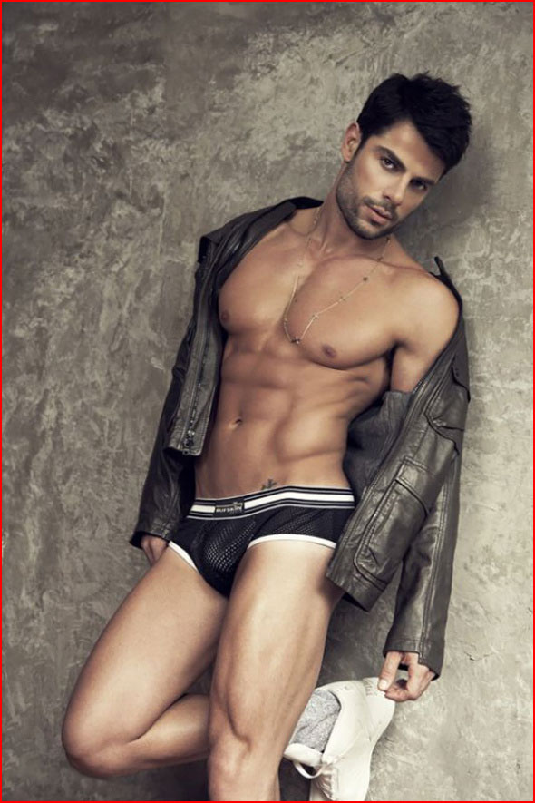 Гей модель Bruno Pacheco  (гей блюсик 12014)