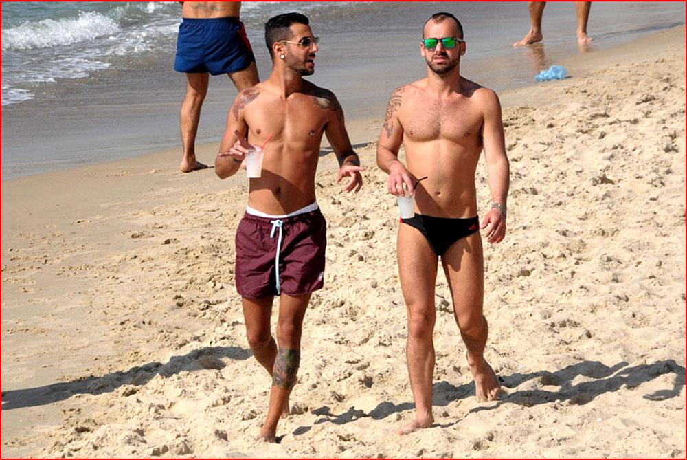 Привлекательный Тель-Авив  (гей блюсик 12167)