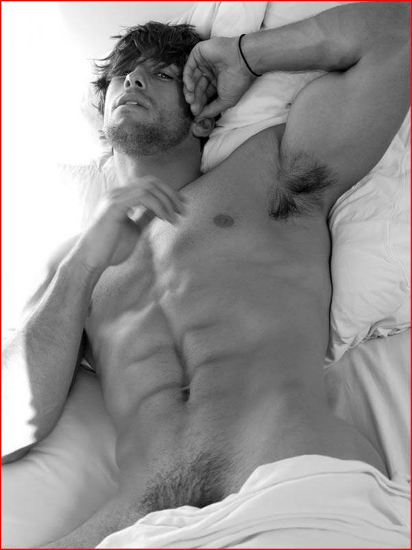 Чёрно-белая эротика  (гей блюсик 12239)