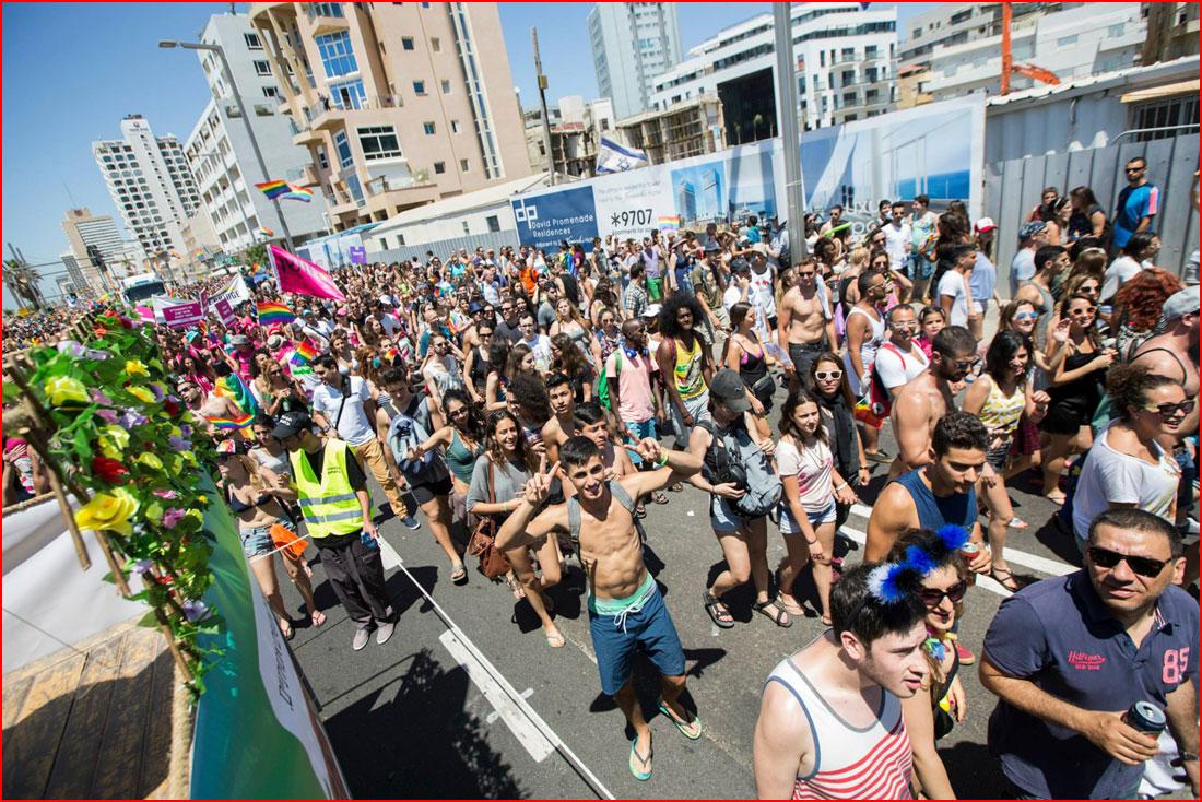 Гей-парад в Тель-Авиве 2015