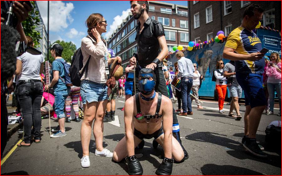Гей-парад в Лондоне