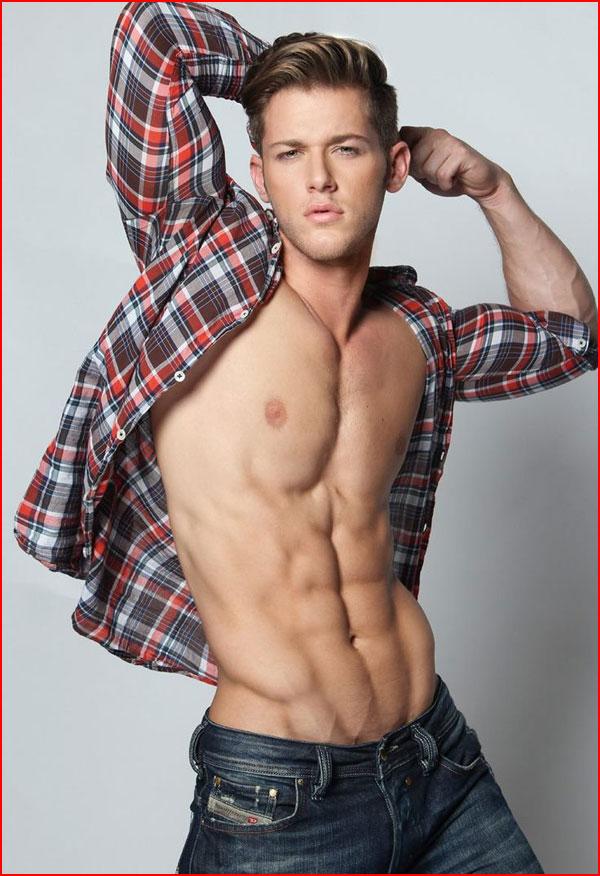 Модель Joshua Michael Brickman  (гей блюсик 12338)