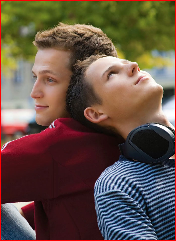 Спина к спине  (гей блюсик 12573)