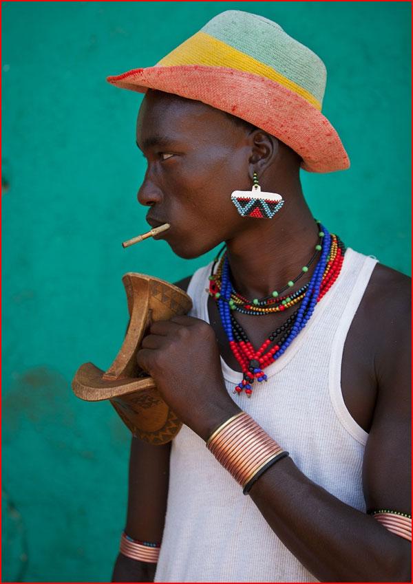 Модное племя в Эфиопии