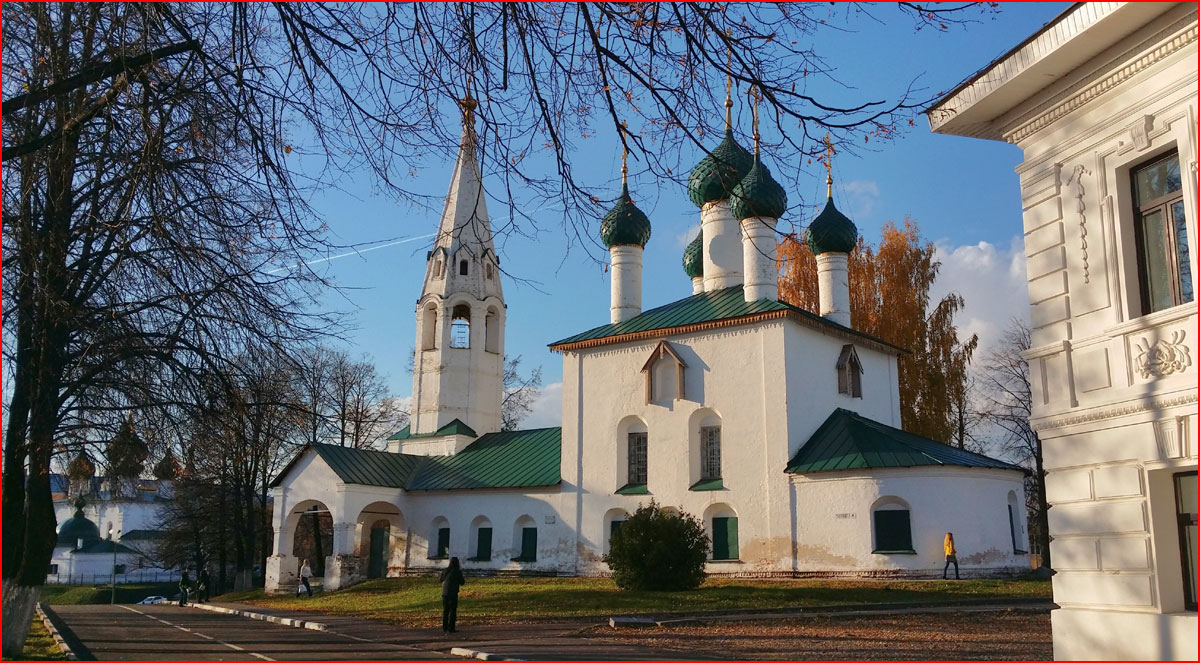 Осенний Ярославль  (гей блюсик 12744)