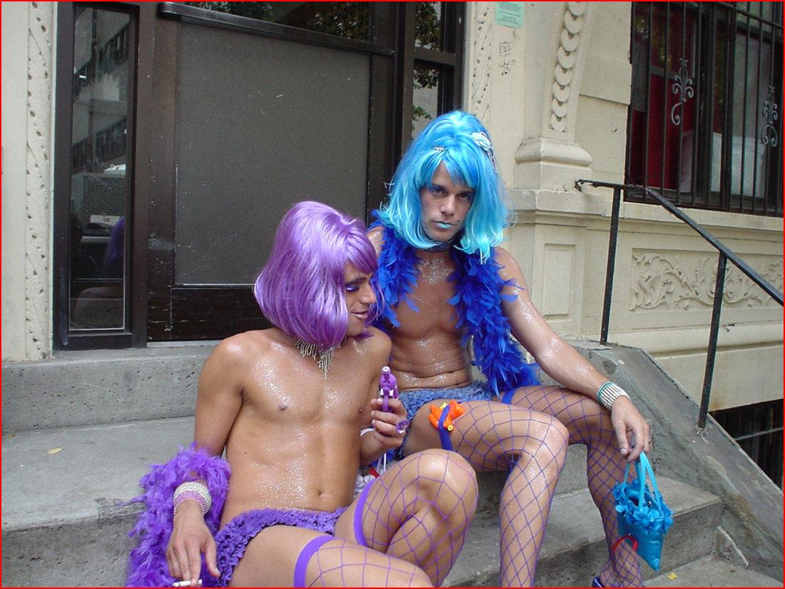 Душечки  (гей блюсик 12804)