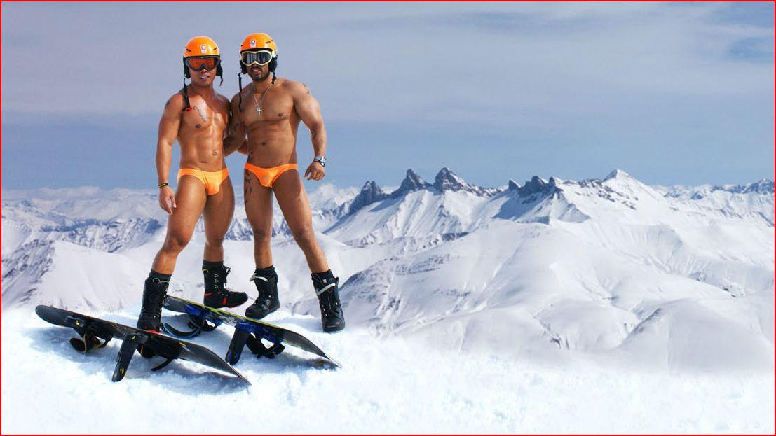 Секс геев сноубордистов