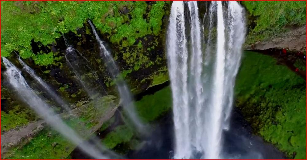 Исландия с дрона (видео)  (гей блюсик 13232)