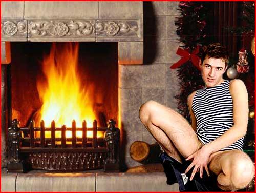 Новогодние открытки  (гей блюсик 1331)