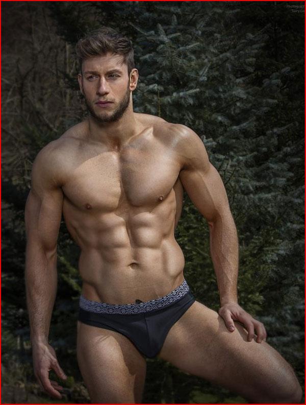 Гей модель Joel Gartland  (гей блюсик 13486)