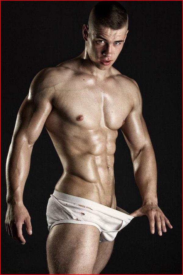 Сексапильный парень  (гей блюсик 13586)