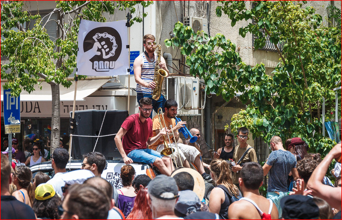 Парад Гордости в Тель-Авиве - 2016  (гей блюсик 13639)