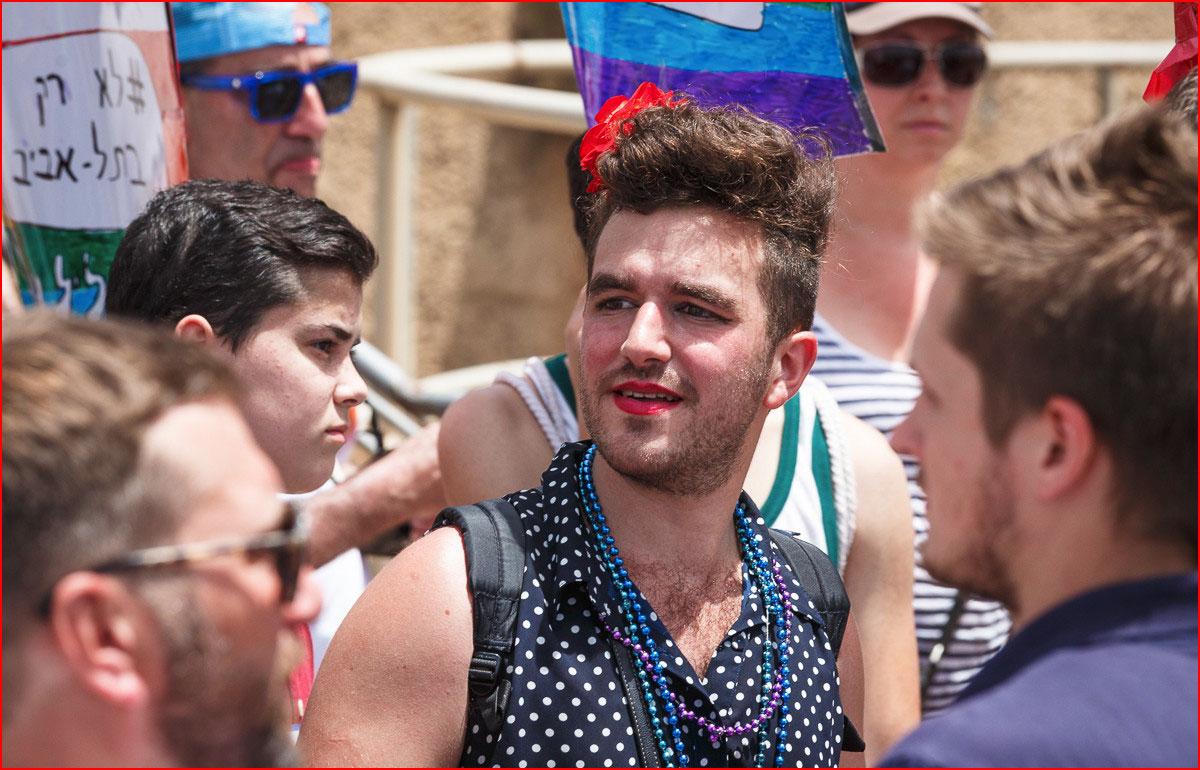 Парад Гордости в Тель-Авиве - 2016