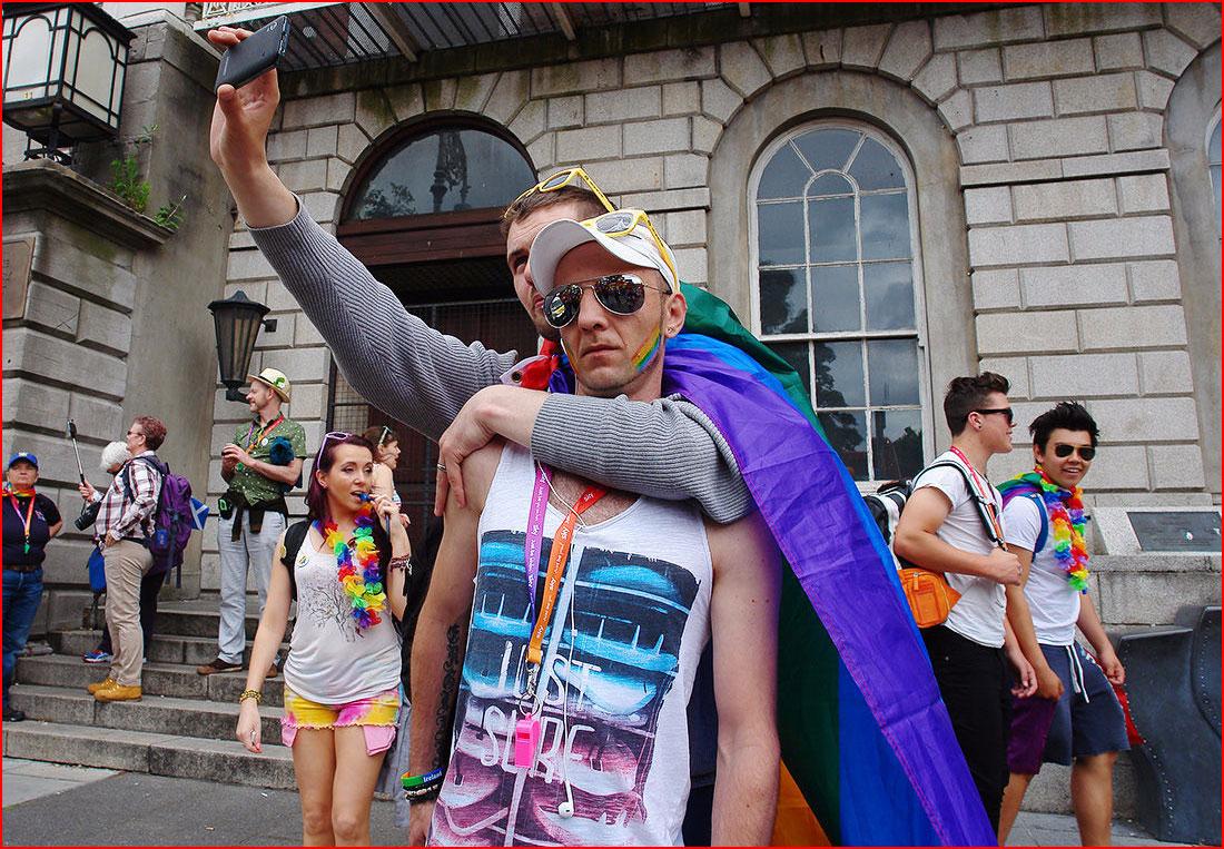 Гей-парад в Дублине глазами натурала
