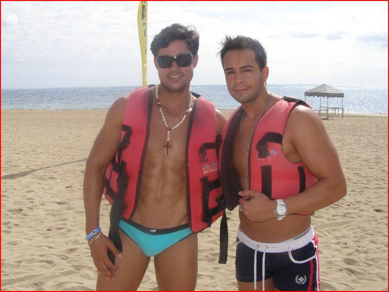 На пляже в Пуэрто-Плате