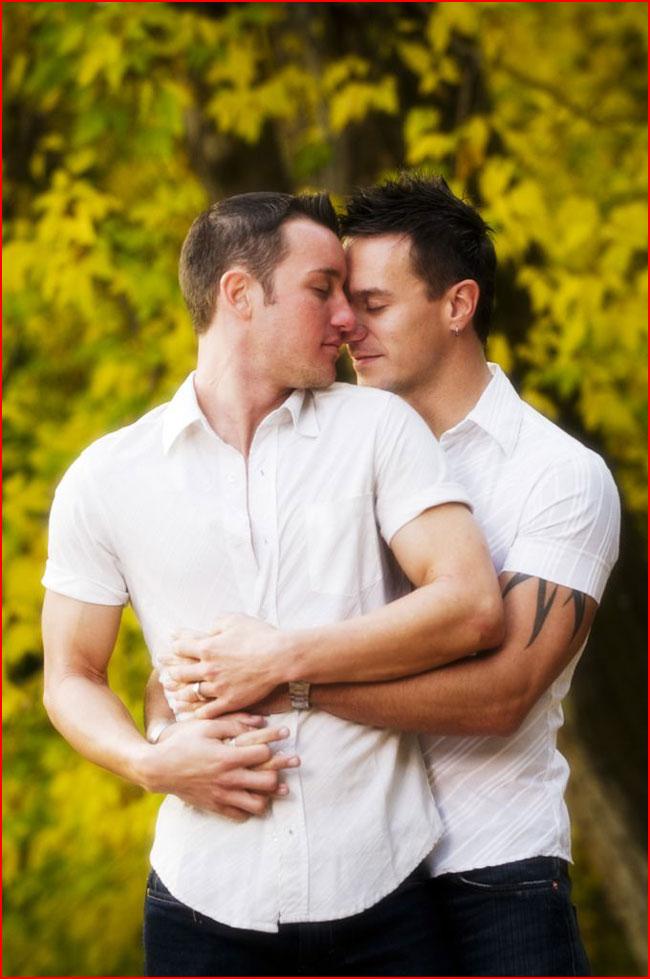 На фоне осени  (гей блюсик 14000)