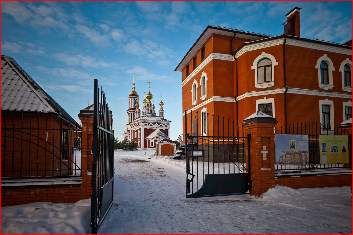Зимний Суздаль. Фотозарисовка