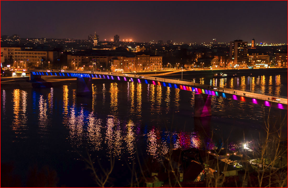 Нови Сад и Новый год по-сербски