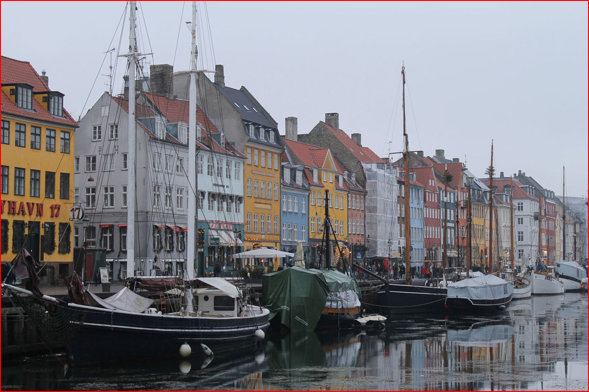 Копенгаген-Амстердам. Новогодняя фотозарисовка