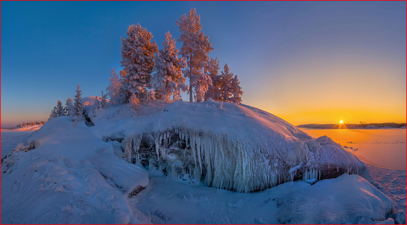 Зимняя Ладога  (гей блюсик 14619)