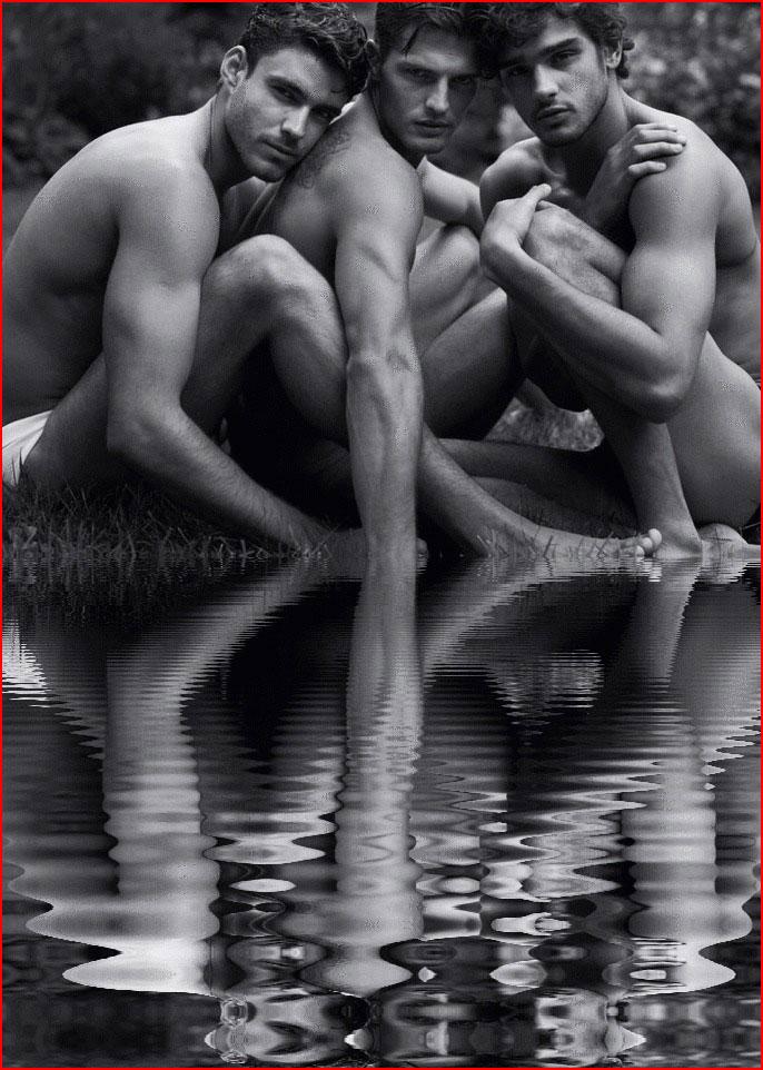 Трое у озера  (гей блюсик 14858)
