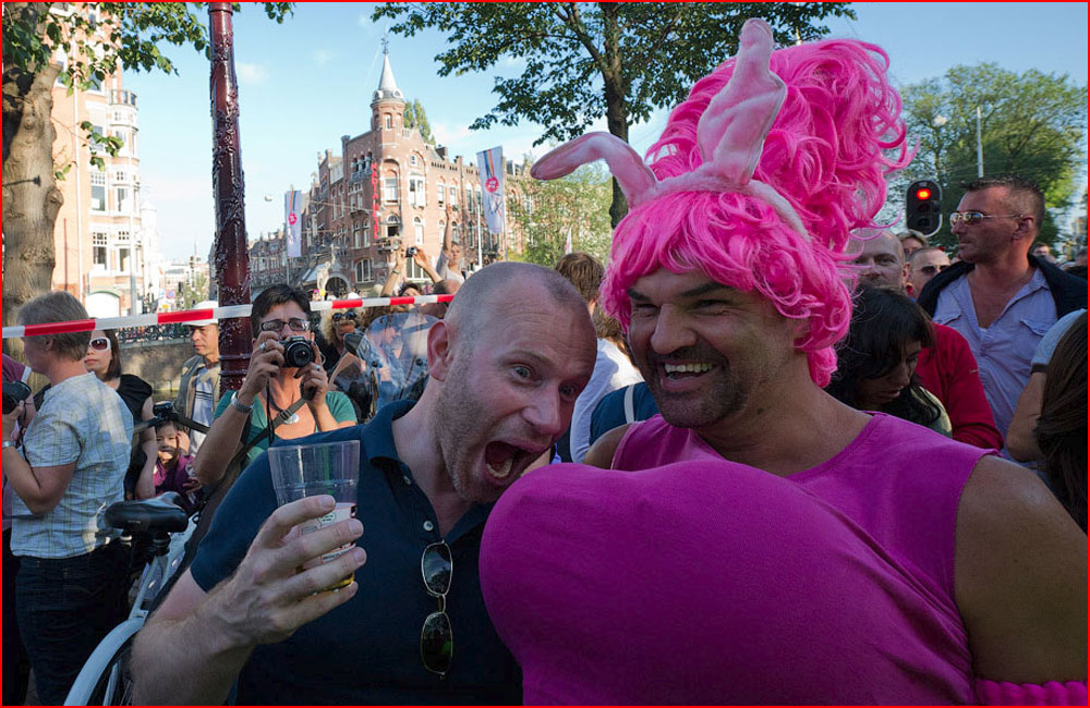 Олимпиада трансвеститов в Амстердаме