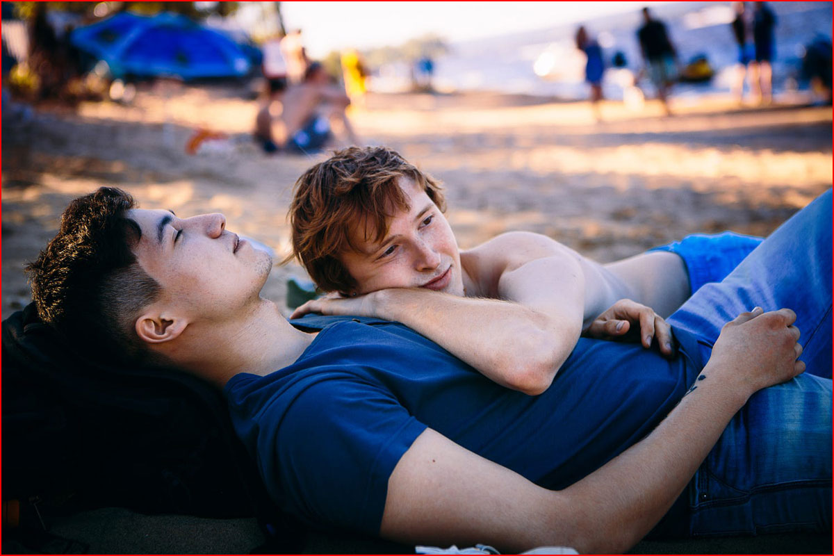 гея трахнул смотреть озере как гей на