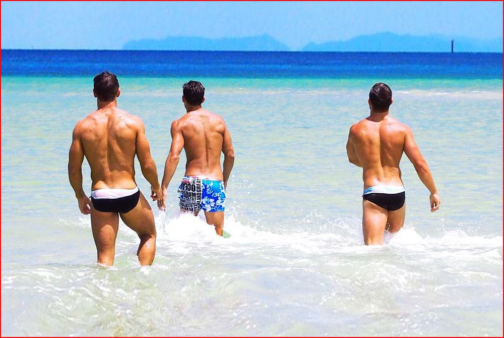Парни на море  (гей блюсик 15107)