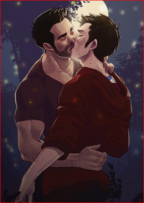 Любовь нарисованная  (гей блюсик 15119)