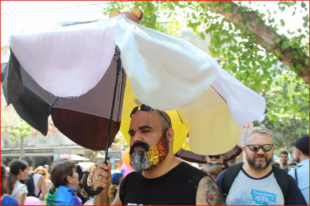 Гей-парад в Тель-Авиве 2017  (гей блюсик 15123)