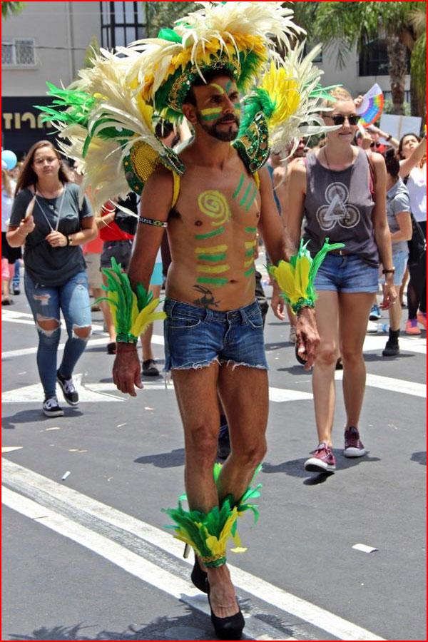 Гей-парад в Тель-Авиве 2017
