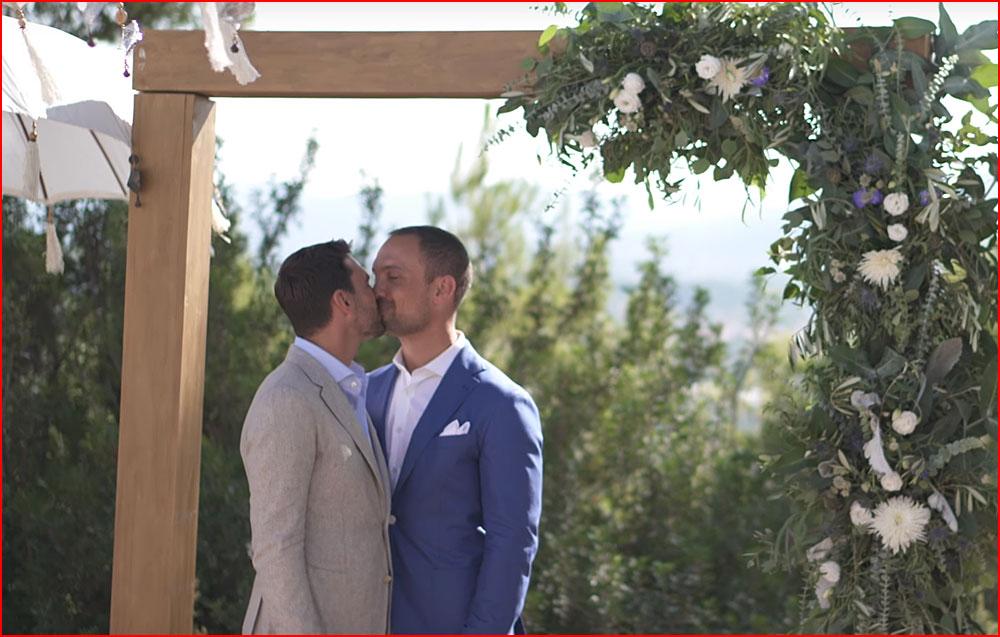 Rob & Tommie. Бракосочетание (видео)  (гей блюсик 15132)