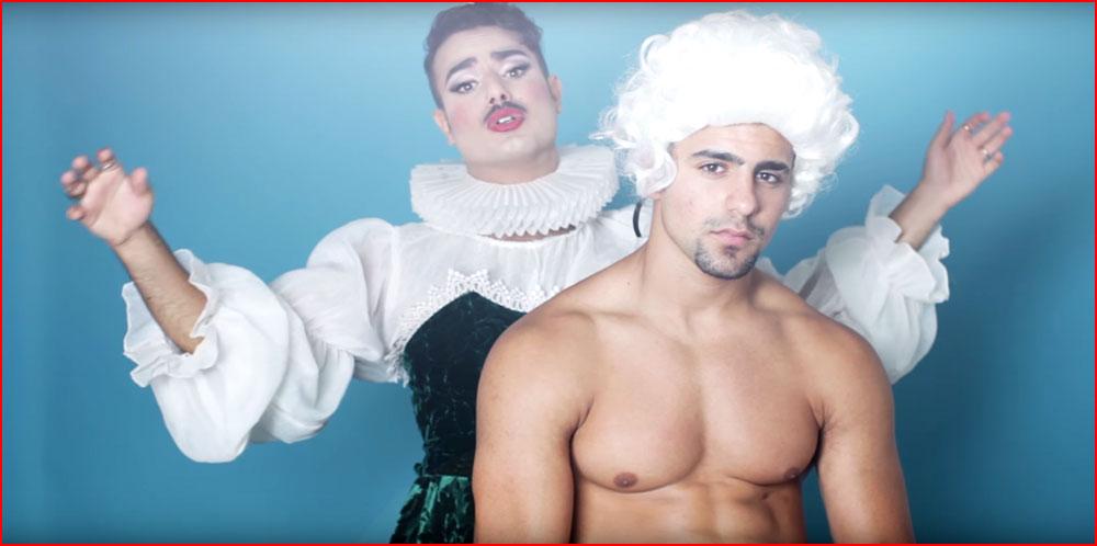 ARISA в пародии на песню Margalit Tzan'ani - Это не Европа  (гей блюсик 15136)