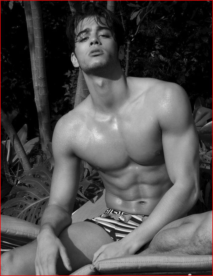 Фотомодель Scott Gardner  (гей блюсик 15139)